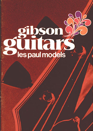 Gibson Product Leaflet Les Paul 1970