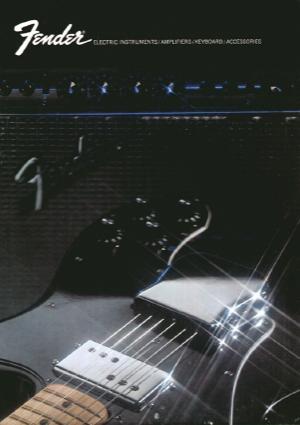 Fender Catalog 1972