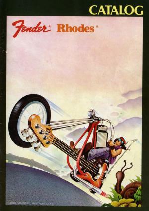 Fender Catalog 1977 Japan