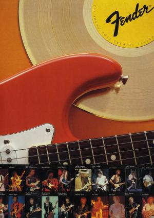 Fender Catalog 1983 Japan