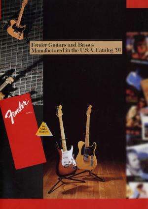 Fender Catalog 1991 Japan