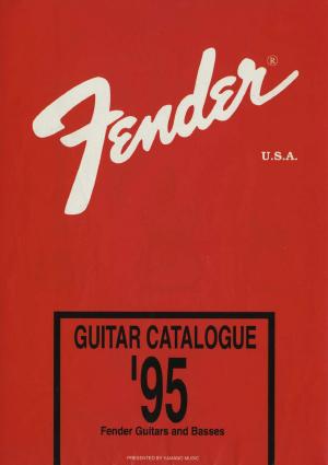 Fender Catalog 1995 Japan