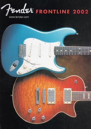 Fender Catalog 2002