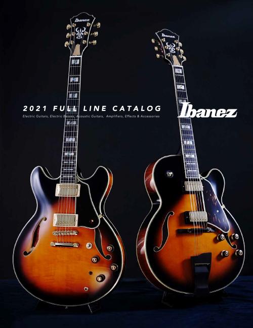 Ibanez Product Catalog 2021