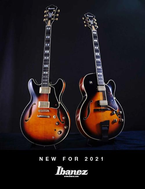 Ibanez Catalog 2021 News