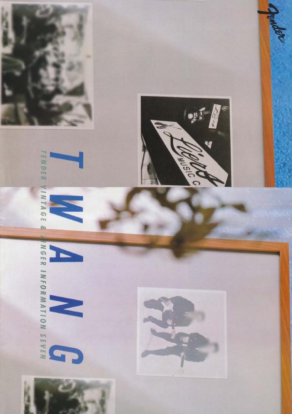 Twang Catalog 1985 Japan