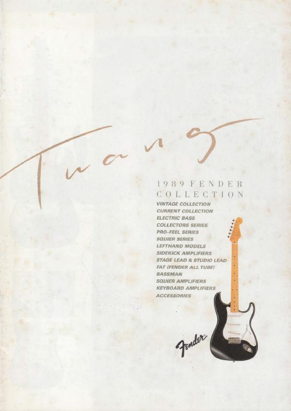 Twang Catalog 1989 Japan