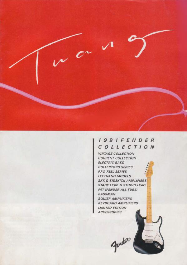 Twang Catalog 1991 Japan