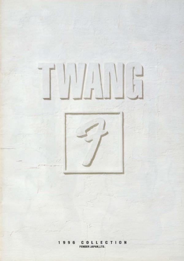Twang Catalog 1996 Japan