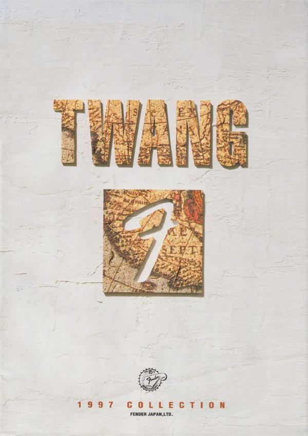 Twang Catalog 1997 Japan