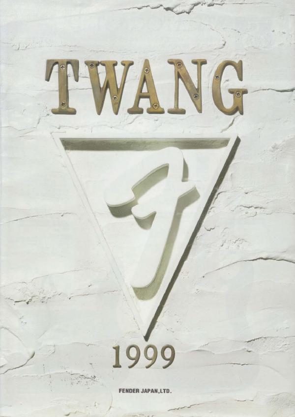 Twang Catalog 1999 Japan