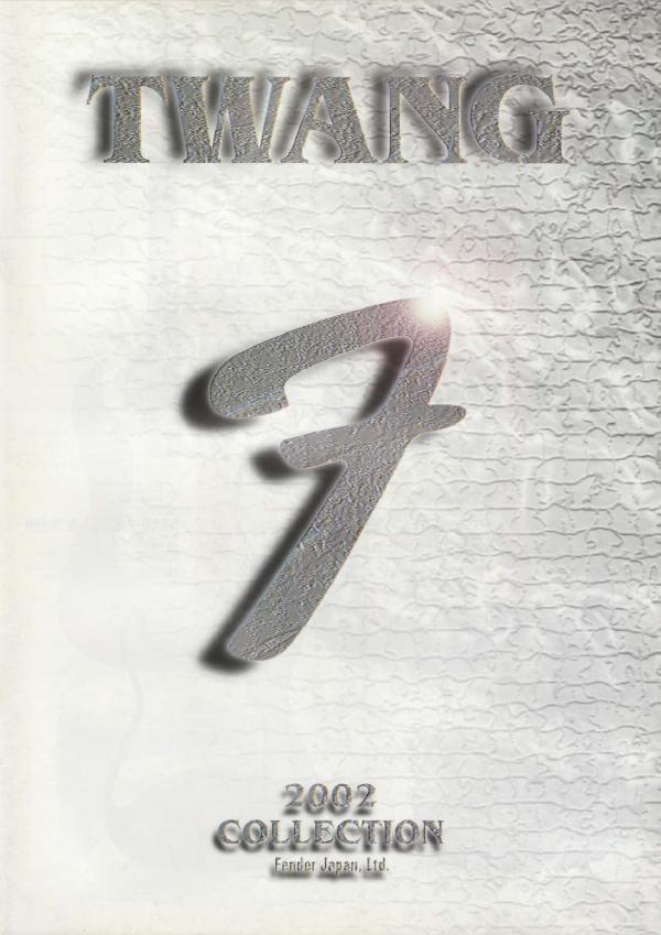 Twang Catalog 2002 Japan