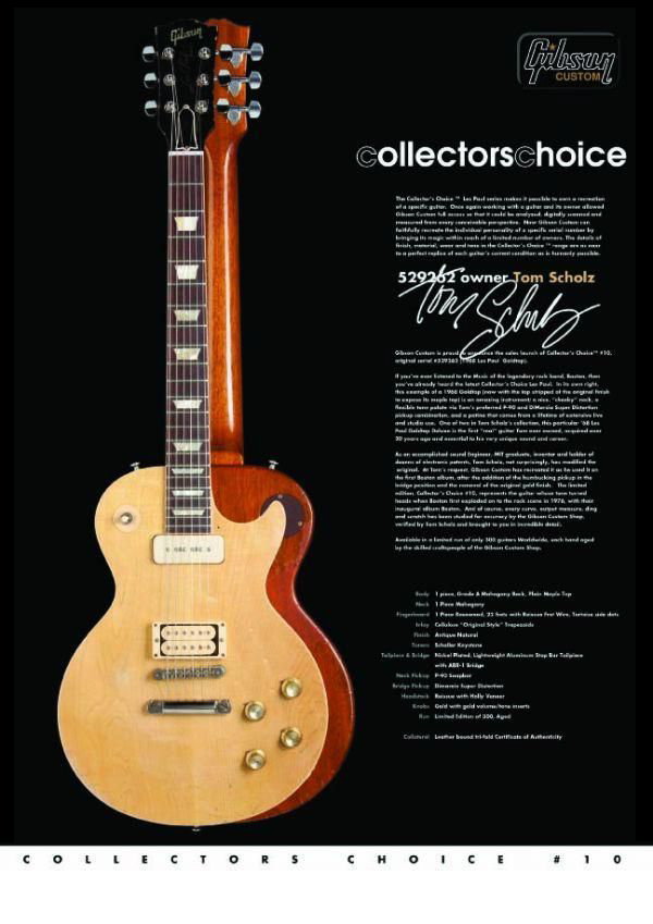 Gibson Custom Collectors Choice #10