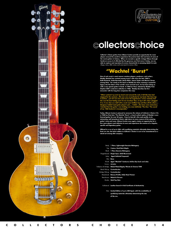 Gibson Custom Collectors Choice #14