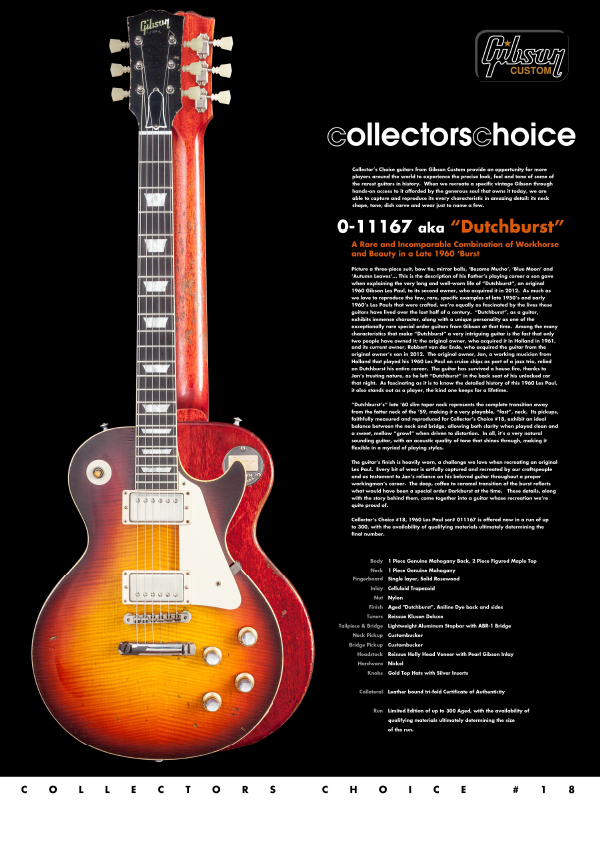 Gibson Custom Collectors Choice #18