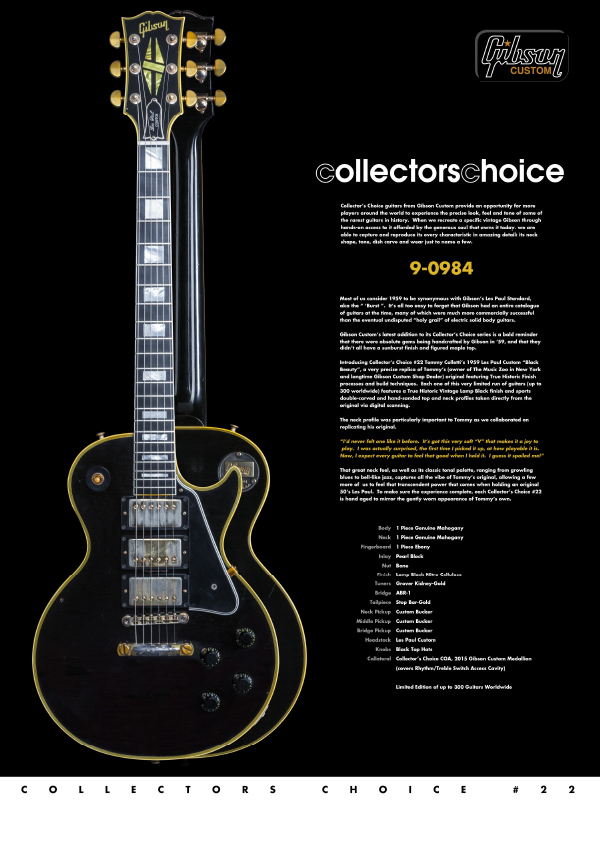 Gibson Custom Collectors Choice #22