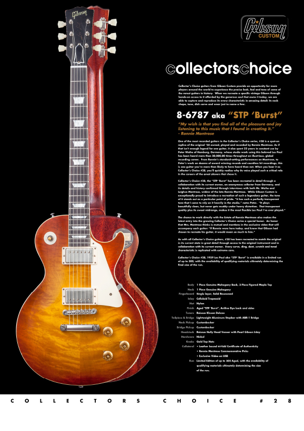 Gibson Custom Collectors Choice #28