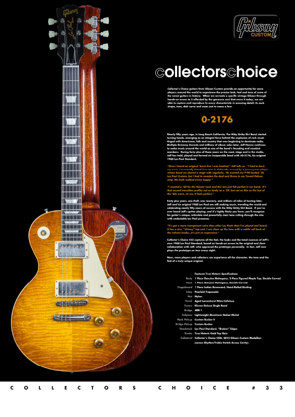 Gibson Custom Collectors Choice #33