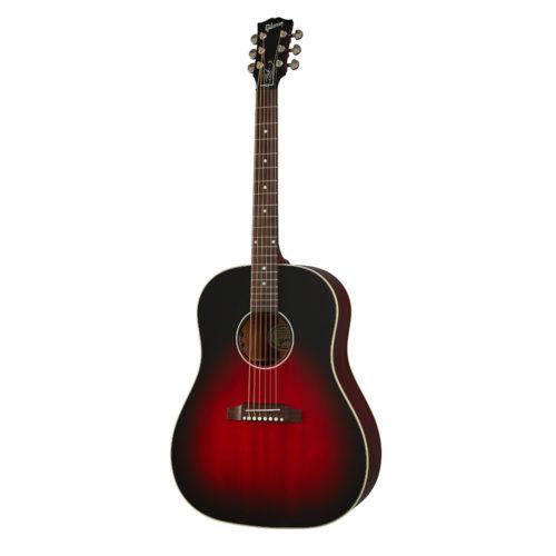 Gibson Slash J-45 Vermillion Burst (2021)_01